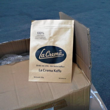 Our coffee bags arrived!