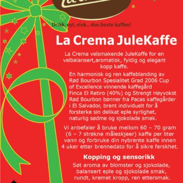 La Crema JuleKaffe!