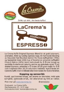 Signature Espresso Blend