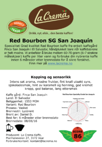 Red Bourbon - San Joaquin