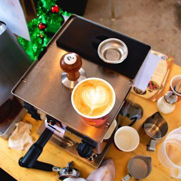 La Crema Kaffe på årets Julemarked på Sjue Gård!