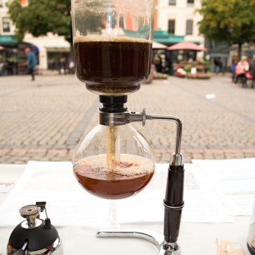 La Crema Kaffe International Coffee Day 2015 and Lansering i Drammen Norge!