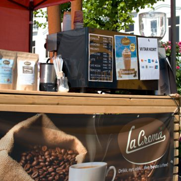 La Crema Kaffe på Bondens Marked